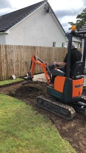 Micro Digger & Driver Available | Sidlaw Tank Services