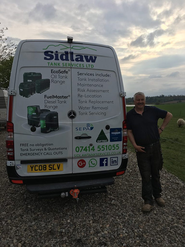 Sidlaw Tank Services | Oil Tank Services in Perthshire, Dundee, Angus & Fife